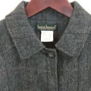 NEW Harve benard mid-long Blazer- coat